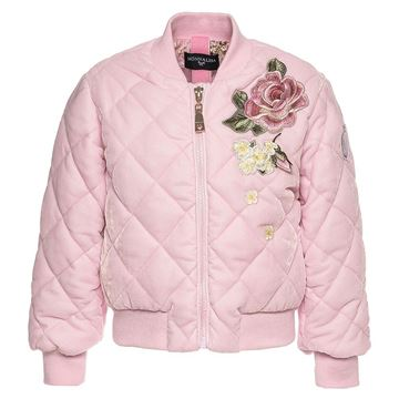 Picture of Monnalisa Pink Bomber Jacket
