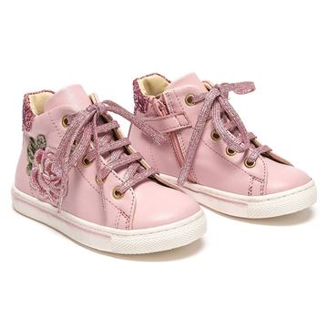 Picture of Monnalisa Pink Rose Trainers