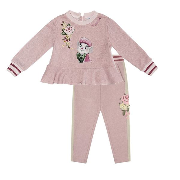 Picture of Monnalisa Pink Tracksuit