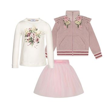 Picture of Monnalisa Pink 3 Piece Set