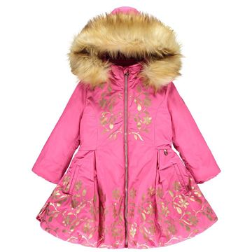 Picture of Ariana Dee Pink & Gold Coat