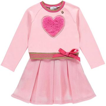 Picture of Ariana Dee Pink Heart Dress