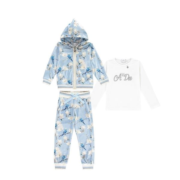 Picture of Ariana Dee Bluebird Blue Tracksuit