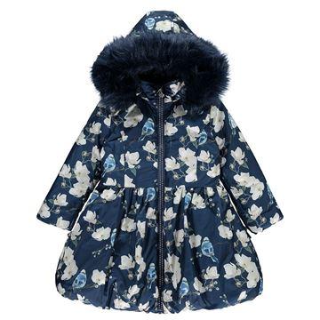 Picture of Ariana Dee Bluebird Navy Coat