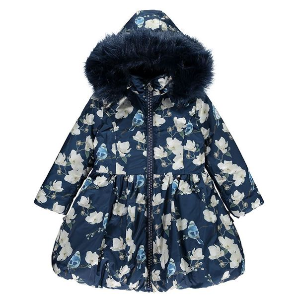 Picture of Ariana Dee Bluebird Navy Coat