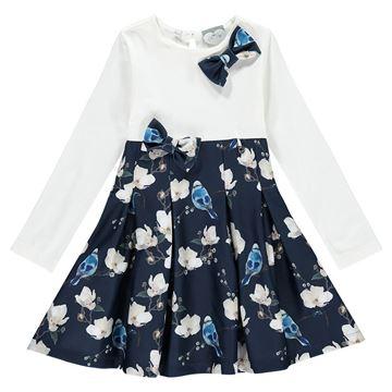 Picture of Ariana Dee Bluebird Navy Dress