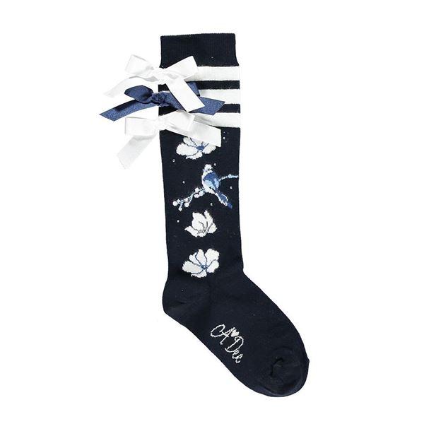 Picture of Ariana Dee Bluebird Navy Socks