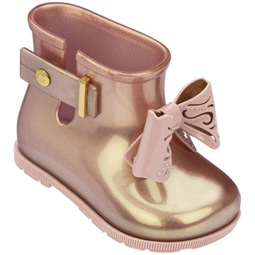 Picture of Mini Melissa Pink Bow Boots