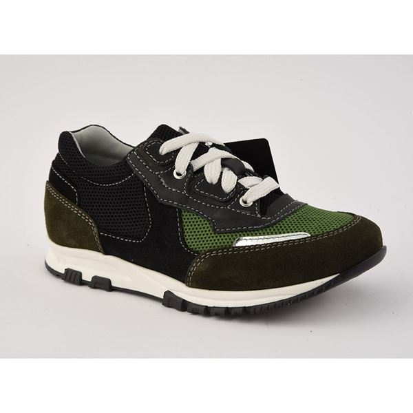 Picture of Lanvin Navy & Green Runners