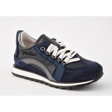 Picture of Dsquared Navy & Grey Trainers