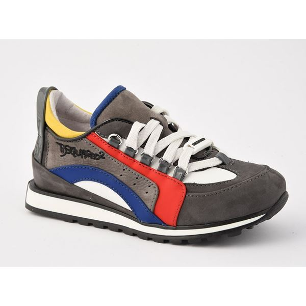 Picture of Dsquared Grey Trainers