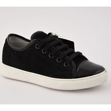 Picture of Lanvin Black Trainers