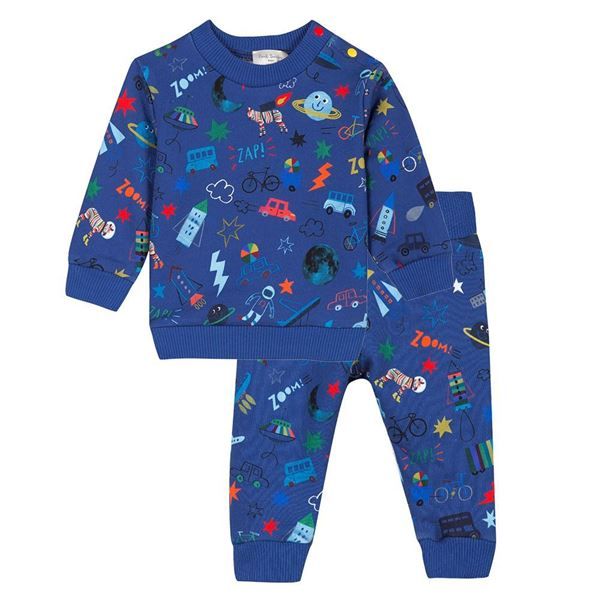 Picture of Paul Smith Blue Printed Tracksuit