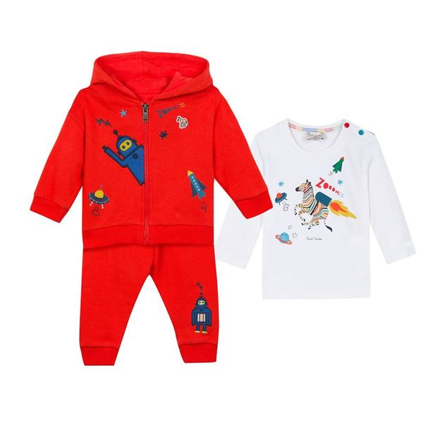 Picture of Paul Smith Red Tracksuit with T-Shirt