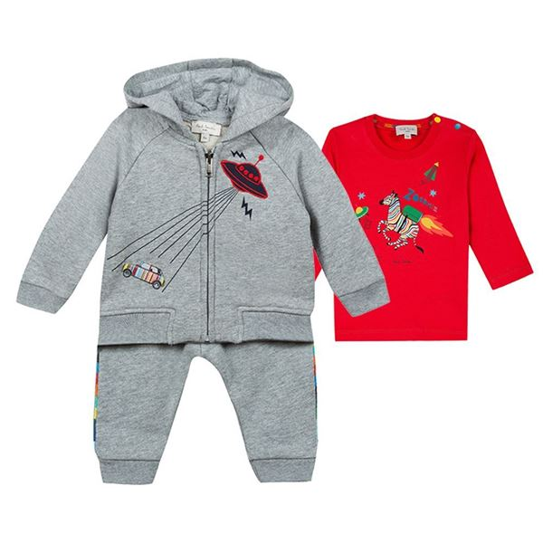Picture of Paul Smith Grey Tracksuit with T-Shirt