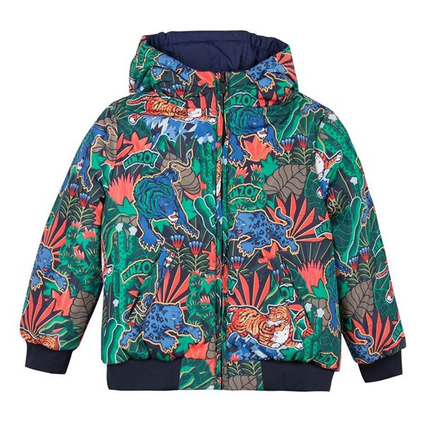 Picture of Kenzo Boys Reversible Jungle Jacket