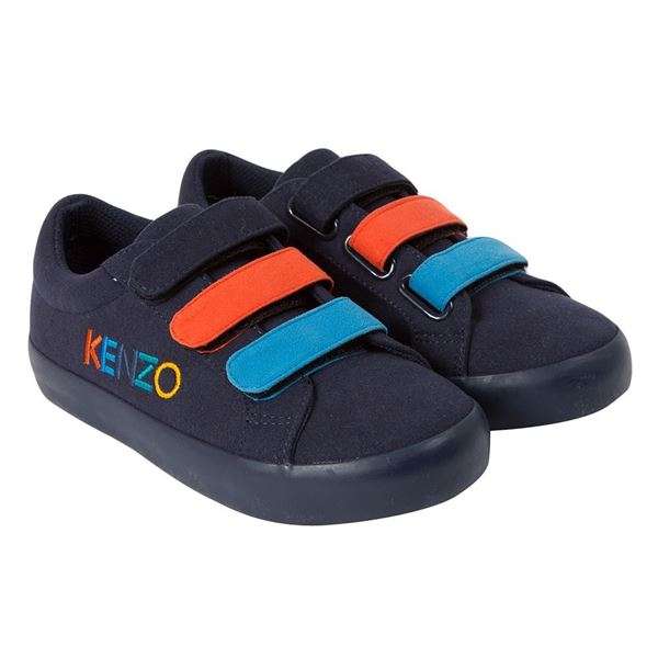 Picture of Kenzo Boys Navy Trainers