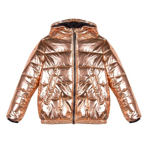 Picture of Kenzo Girls Rose Gold Coat