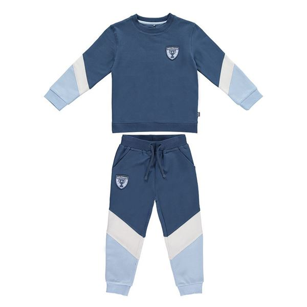 Picture of Mitch & Son 'Champion' Blue Tracksuit