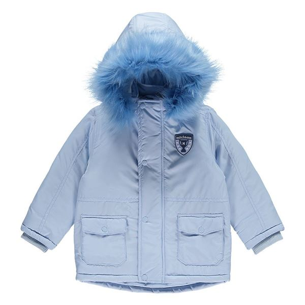 Picture of Mitch & Son Boys Blue Coat