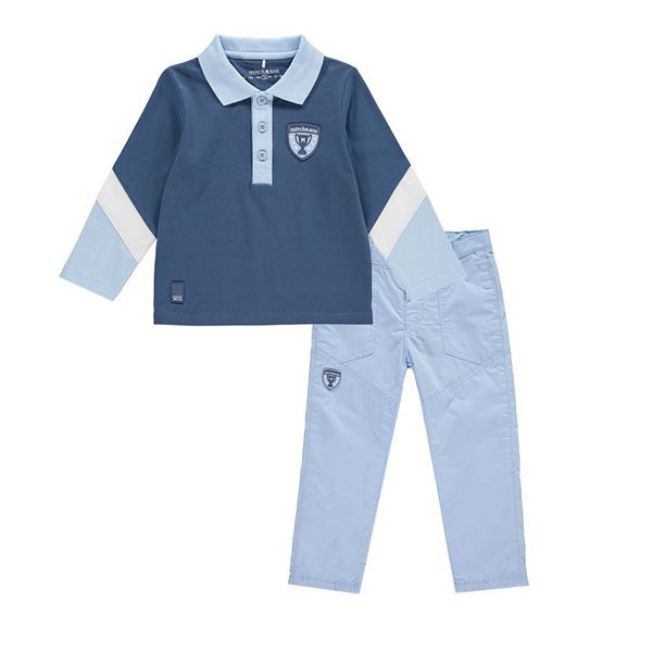 Picture of Mitch & Son Boys Blue 2 Piece Set