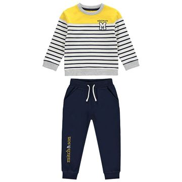 Picture of Mitch & Son 'North Sea' Navy Tracksuit