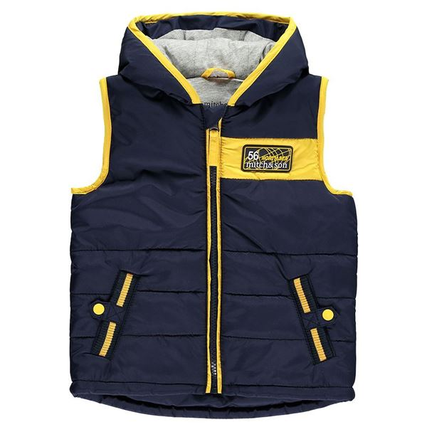 Picture of Mitch & Son 'North Sea' Navy Gilet