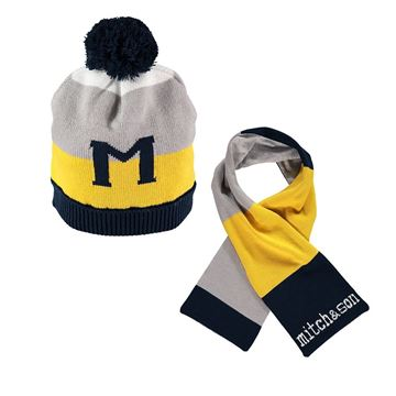 Picture of Mitch & Son Navy Hat & Scarf Set