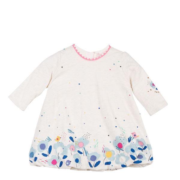 Picture of Catimini Baby Girl Cream Dress