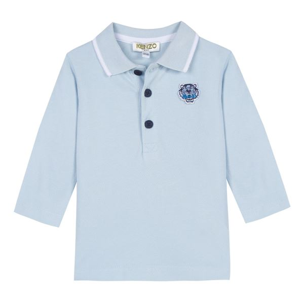 Picture of Kenzo Baby Boys Blue Polo Top