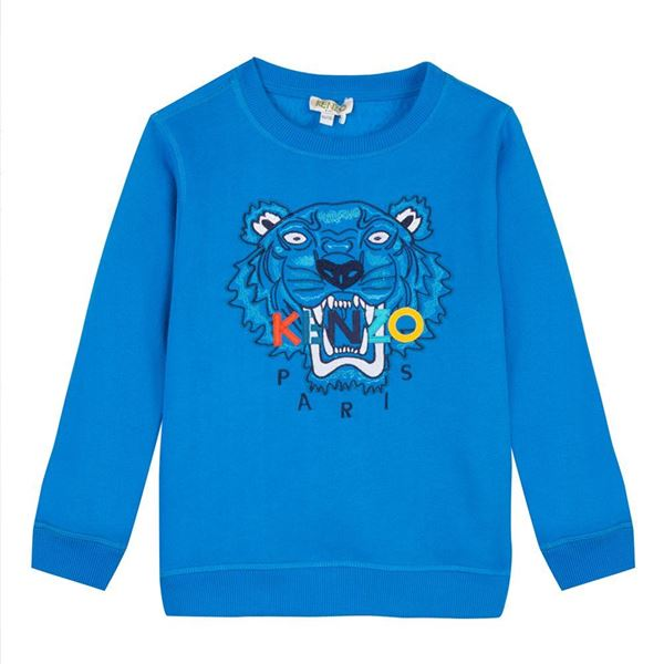 Picture of Kenzo Blue Tiger Jumper