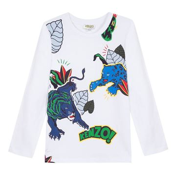 Picture of Kenzo Boys Tiger Top