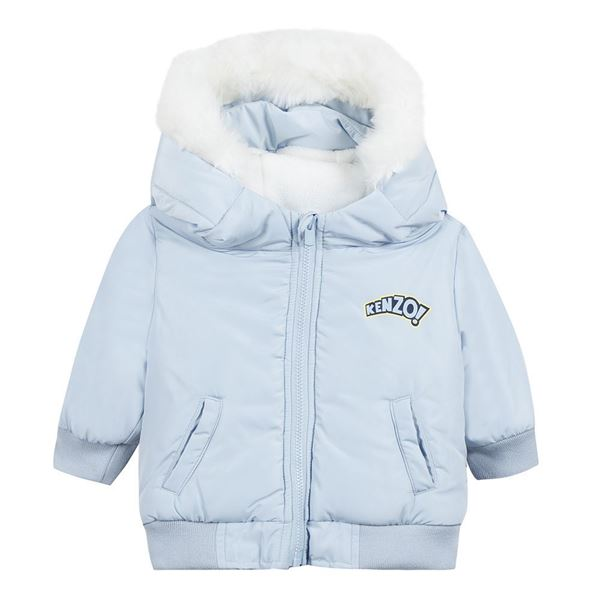 Picture of Kenzo Baby Boys Blue Coat