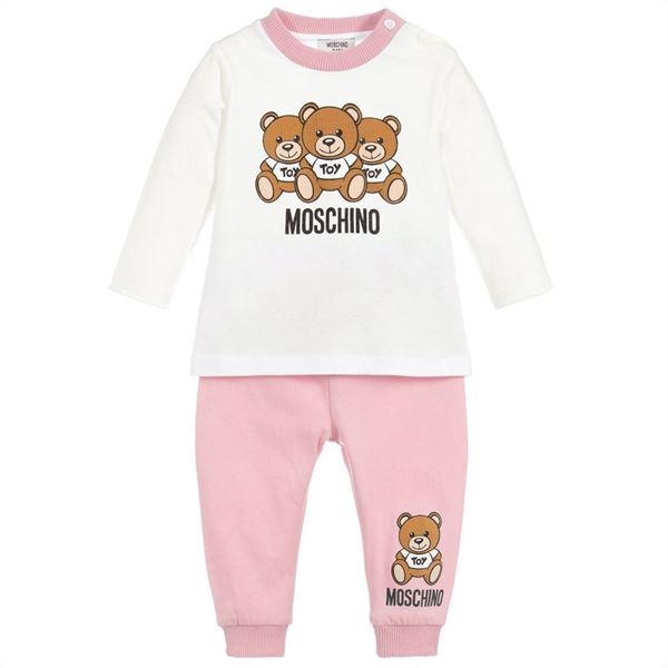 Picture of Moschino Baby Girl Teddy Set
