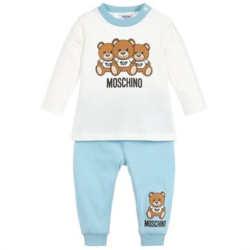 Picture of Moschino Baby Boy Teddy Set