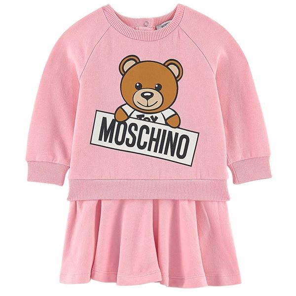 Picture of Moschino Baby Girl Teddy Dress
