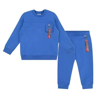 Picture of Moschino Baby Boy Blue Tracksuit