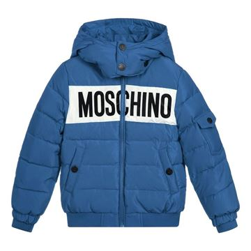 Picture of Moschino Boys Blue Coat