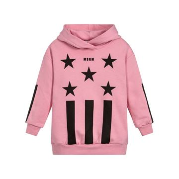 Picture of MSGM Pink Jumper Dress