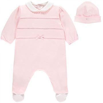Picture of Emile Et Rose Baby Pink Romper