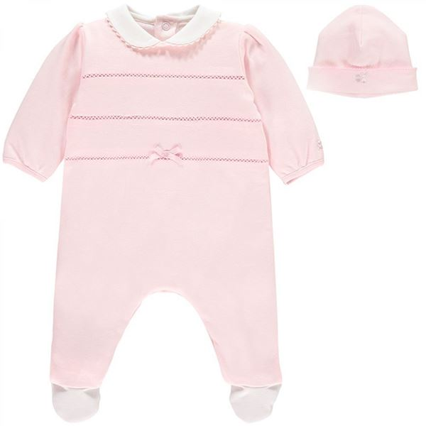 Picture of Emile Et Rose Baby Pink Romper
