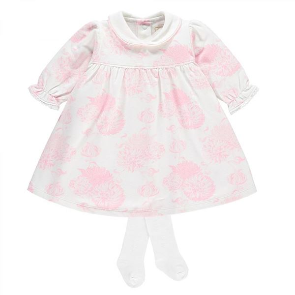 Picture of Emile Et Rose Baby Pink Printed Dress