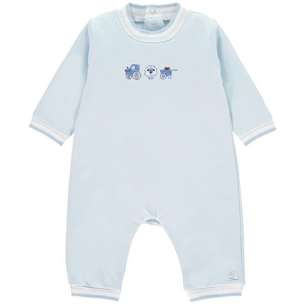 Picture of Emile Et Rose Baby Blue Romper