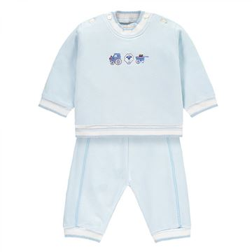 Picture of Emile Et Rose Baby Blue Tracksuit