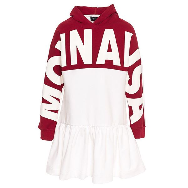 Picture of Monnalisa Red & Cream Jumper Dress