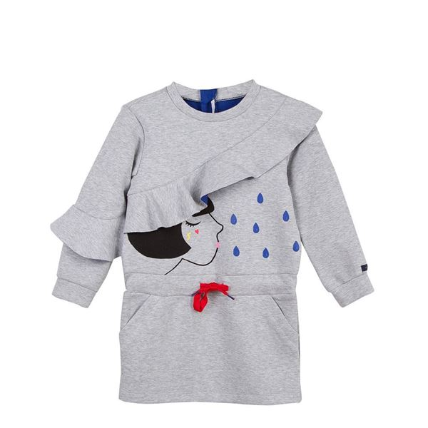 Picture of Catimini Girls Grey Dress