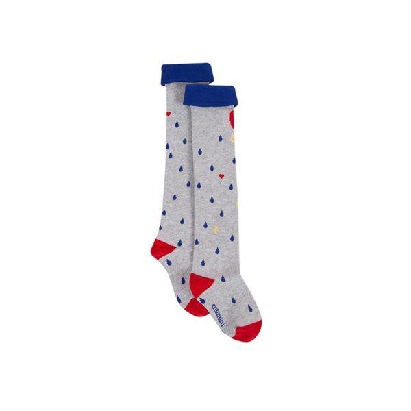 Picture of Catimini Girls Grey Knee Socks