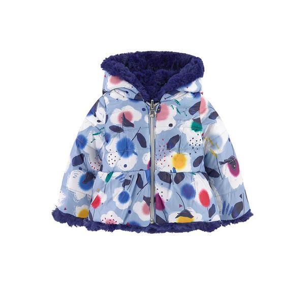 Picture of Catimini Baby Girl Printed Reversible Coat