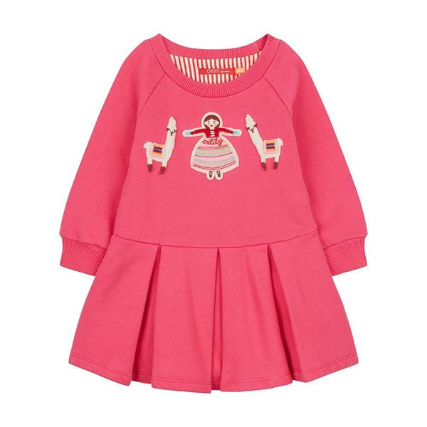 Picture of Oilily Girls 'Hermosa' Pink Dress
