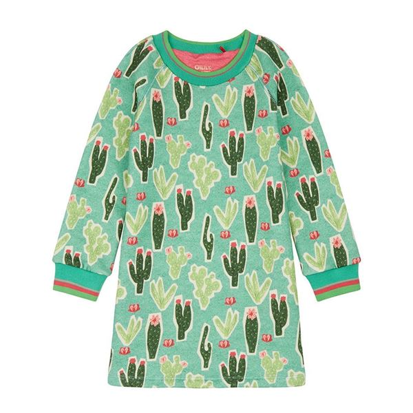 Picture of Oilily Girls 'Hippel' Green Dress